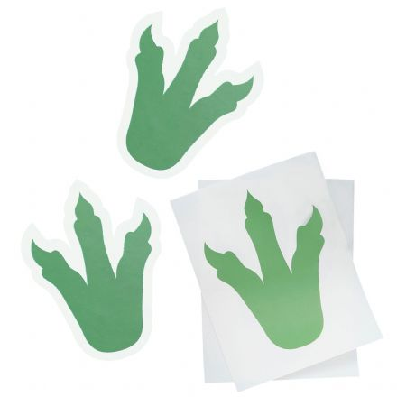 Dinosaur Footprint Stickers